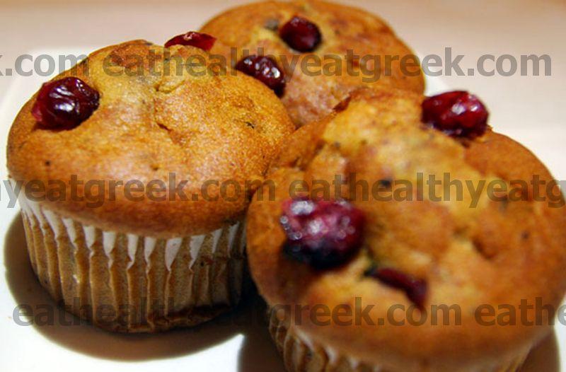 Receta de muffins de arándano y Stilton